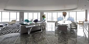 Istanbul penthouse modern layout inside