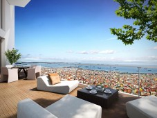 Istanbul apartment sea view
