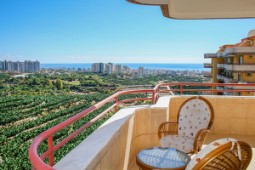 Alanya apartment with sea and mountain view for sale