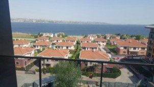 Sea view Buyukcekmece apartments for sale