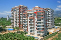 Apartment close to the beach for sale in Alanya