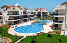 Apartment walking distance to golf course for sale in Belek