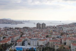 Sea view apartment for sale in Istanbul