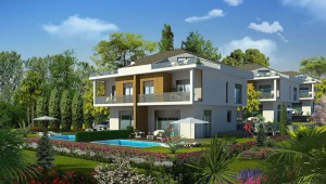 Beylikduzu nature view villa for sale