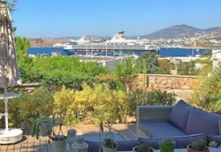 Apartment for sale with castle and sea views in Bodrum