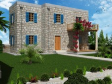 House in Bodrum centre