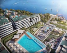 Seafront luxury apartments for sale in Istanbul