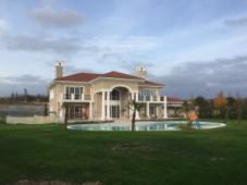Lake side mansion for sale in Buyukcekmece