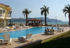 Calis seafront apartments