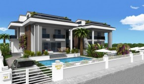 Calis beach villa off plan