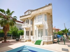 Calis stone built villa for sale