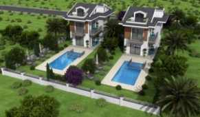 Gocek coastal view villa designed to luxury standards