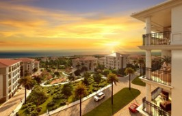 Luxury designed sea view apartments above West Marina