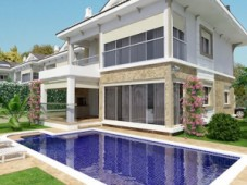 Calis detached villas for sale