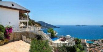 Luxury Kalkan fully furnished villa for sale