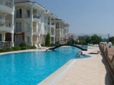 Furnished apartment with full panoramic sea views in Calis
