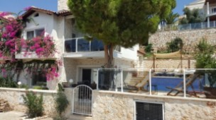 Kalkan furnished villa for sale