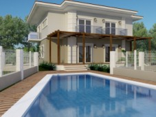 Gocek brand new detached villa for sale