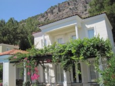 Furnished villa for sale in Gocek