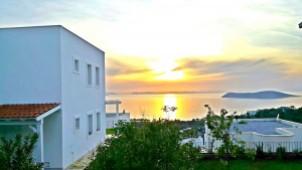 Gumusluk ocean views villa for sale