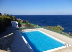 Seafront Gundogan private beach villa fully furnished