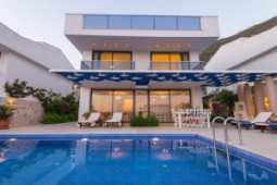 Panoramic villa for sale in Kalkan