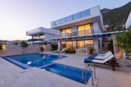 Newly completed 5 bedroom panoramic Kalkan villa