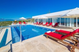 Sea and Bay view immaculate villa in Islamlar Kalkan