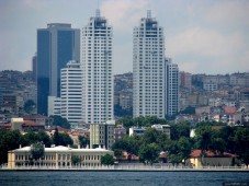 City panoramas from Istanbul residences