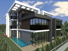 Luxury villas for sale in Istanbul near Buyukcekmece Lake