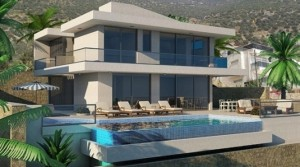Off plan Kalkan villa