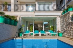 Kalkan apartment with private pool for sale