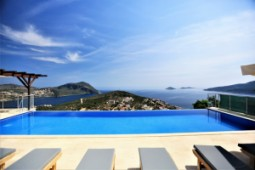 Kalkan sea view view villa for sale