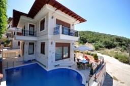 Kas villa exterior view