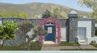 Kizilagac nature surrounded villa for sale