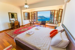 Kalkan superb sea view villa