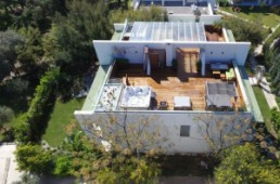 Property aerial view