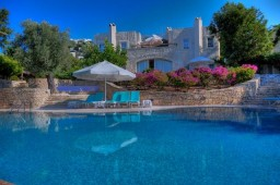 Beachfront private villa bodrum myndos