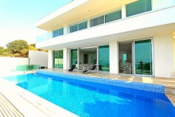 Seaside villa for sale in Gumusluk Bodrum