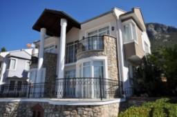 Mountain view villa in Uzumlu with pool