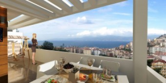 Mudanya sea view Bursa residences bargain priced