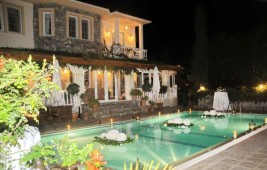 Private detached villa in Ovacik with large gardens