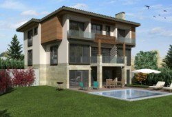 Lake view villa for sale in Istanbul