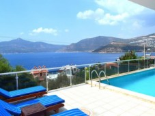 Kalkan furnished sea view villa for sale