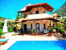 Kalkan sea panorama villa for sale
