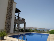 Villa with sea view for sale in Yalikavak