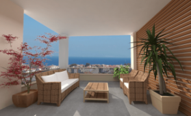 20 minutes to centre Modern sea view Bursa apartments