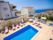 Sea view villa for sale in Kalkan
