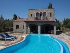 Private pool in the stone villa
