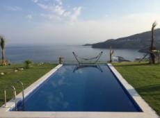 Stunning sea view from Yalikavak villa on the beach